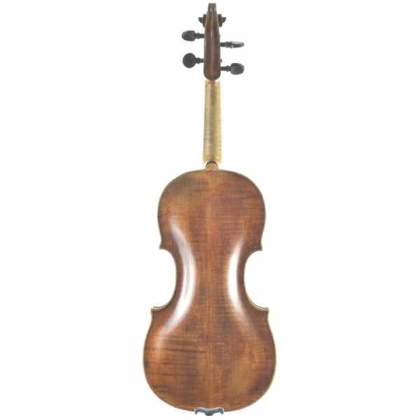 USED 4/4 FULL SIZE VIOLIN BOHEMIAN / KINGENTHAL CIRCA 1770'S. WIEN REGION. POSSIBLY BY J.C. LEIDOLFF. BOGLER LABEL - Click Image to Close