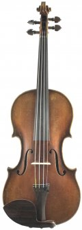 4/4 FULL SIZE VIOLIN 1937 OTTO BRUCKNER. MADE IN MARKNEUKIRCHEN, GERMANY